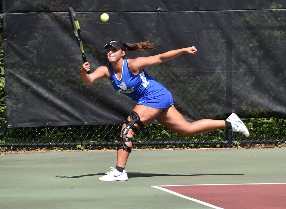 Women's Tennis Victorious in Little East Opener