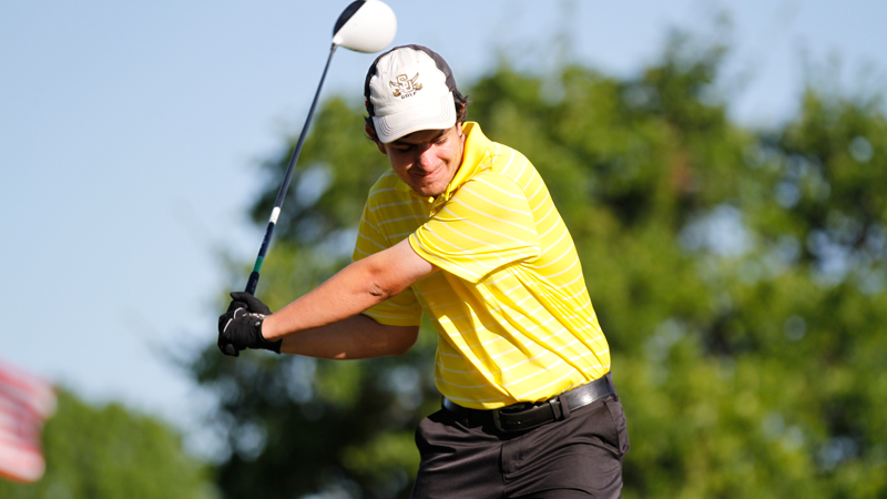 Men's golf closes Jekyll Island tied for 14th