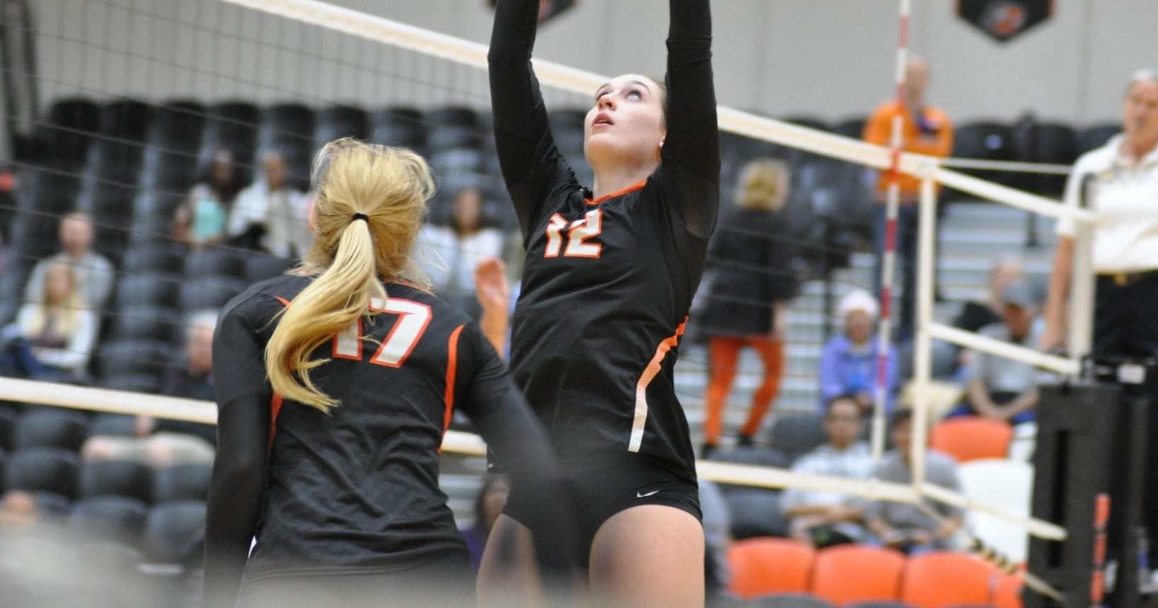 Lewis & Clark loses in four-set battle