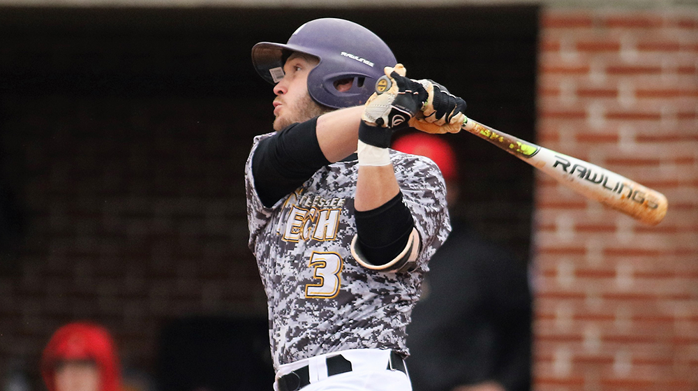 Ham hits for cycle, Golden Eagles even series with Troy