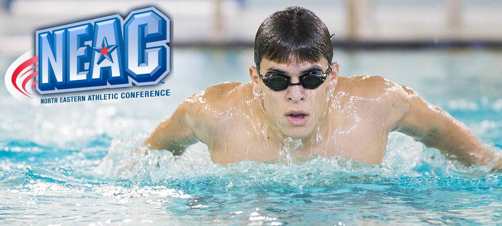 Five Bison earn All-Conference honors on Men's Swimming and Diving teams