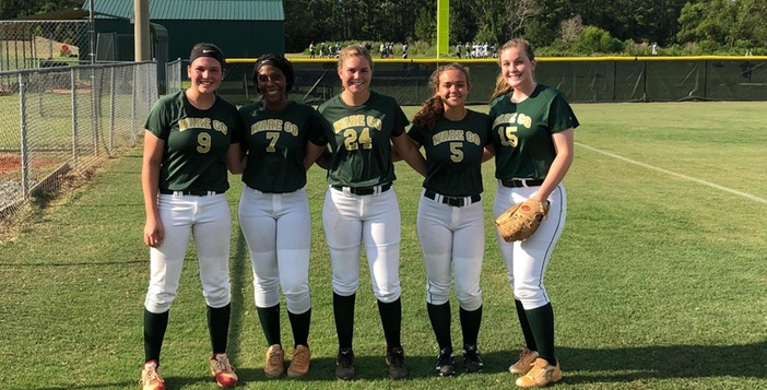 Lady Gators Drop Pair to 7A Lee County on Saturday