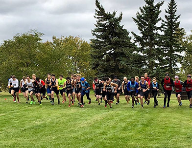 Cheeso and Nawrocki are the Top ACAC Runners in the Running Room Grand Prix #3 - North Meet