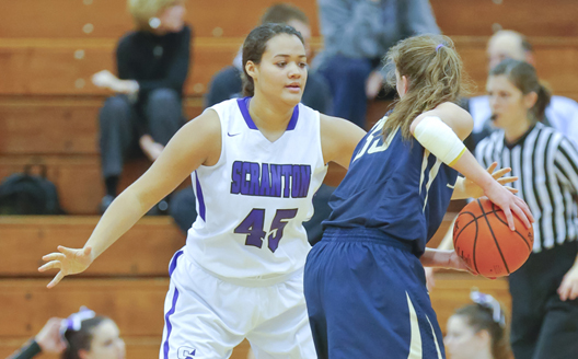 Freshman forward Alexix Roman scored a career-high 30 points as the Lady Royals advanced to the Sweet 16 with a 72-71 victory over Vassar on Saturday in the Long Center.