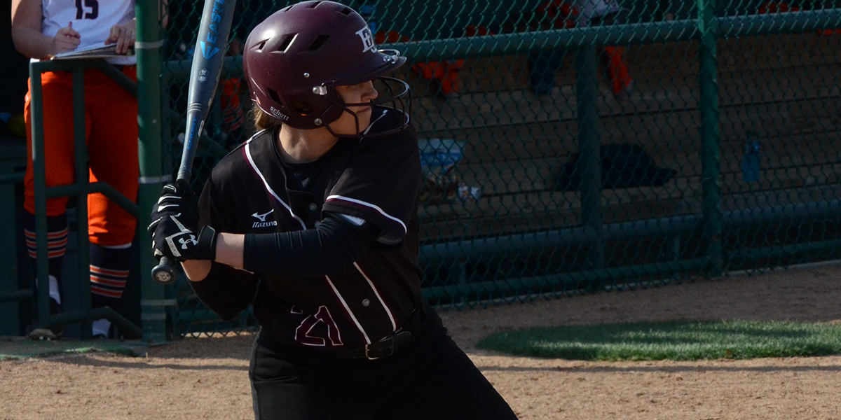 Evangel Softball Falls to No. 19 Baker in Mid-Week Double-Header