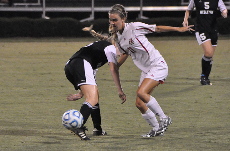 Women's Soccer: Richard's second half goal lifts Panthers over visiting Wesleyan 1-0