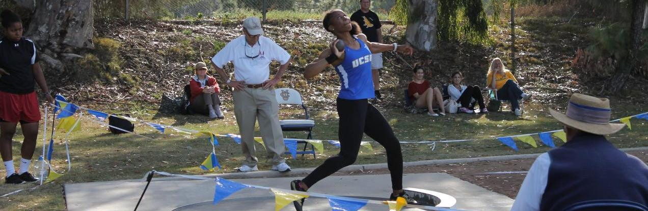 Nwaba Dominates the Heptathlon After Day One of Big West Multi's Championship