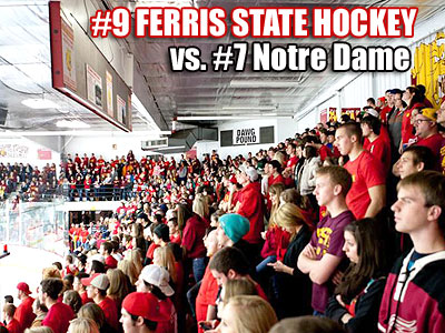 Game Notes: #9 Ferris State at #7 Notre Dame