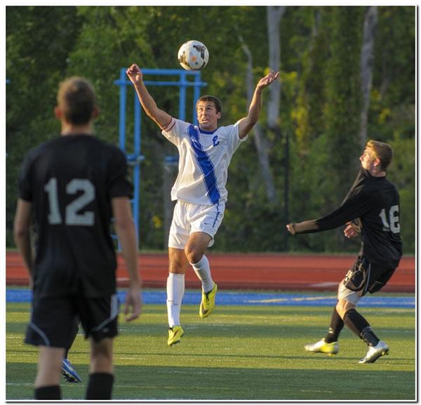 Mount men's soccer posts 1-0 upset win over HCAC front-runner Anderson University