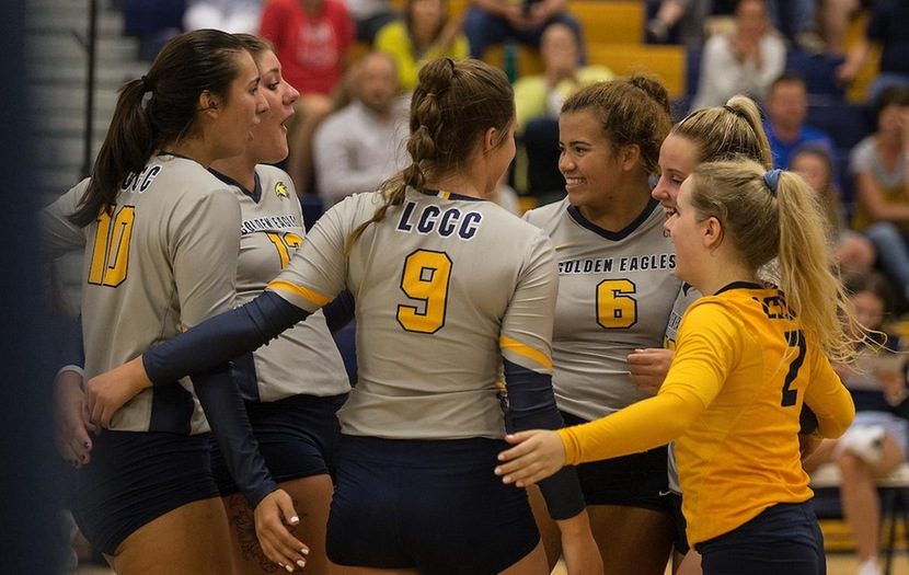 Laramie County Edges New Mexico Military in Five Sets