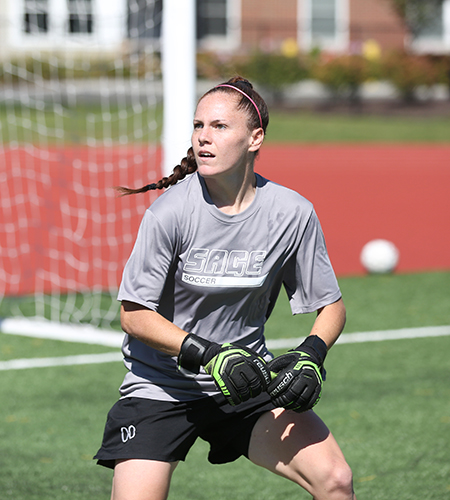Former Sage Women's Soccer Player Nicole Maher signs pro contract to play in Iceland
