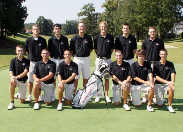 2012-13 Guilford Golf Team (John Bell photo)
