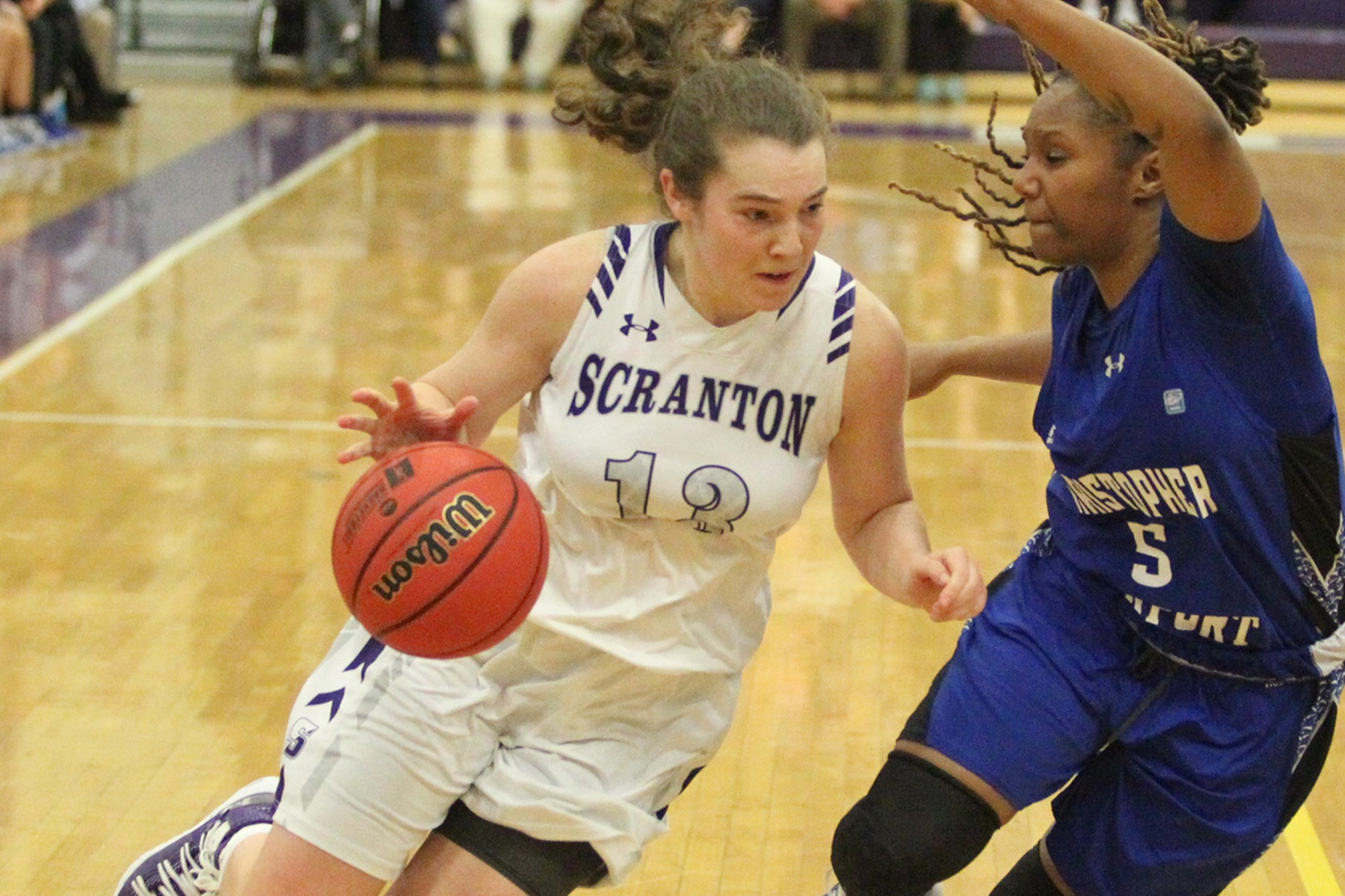 No. 9 Lady Royals Use Late Rally, Timely Bounce to Overcome CNU, 57-56