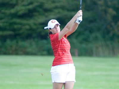 Blaize Baumgartner was among seven players to tie for 59th place at the Eastern Kentucky Lady Colonel Classic.  (Photo by Ed Hyde)