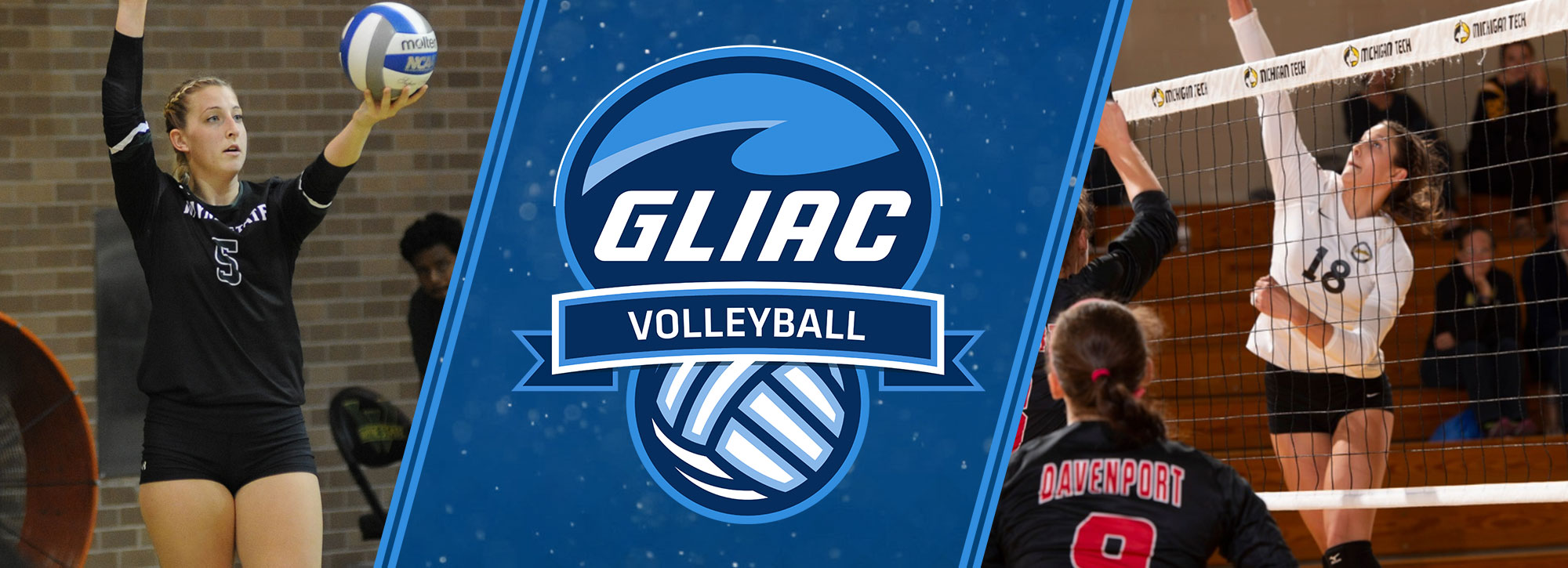 Michigan Tech's Sherman, Wayne State's Richardson Collect GLIAC Volleyball Player of the Week Accolades