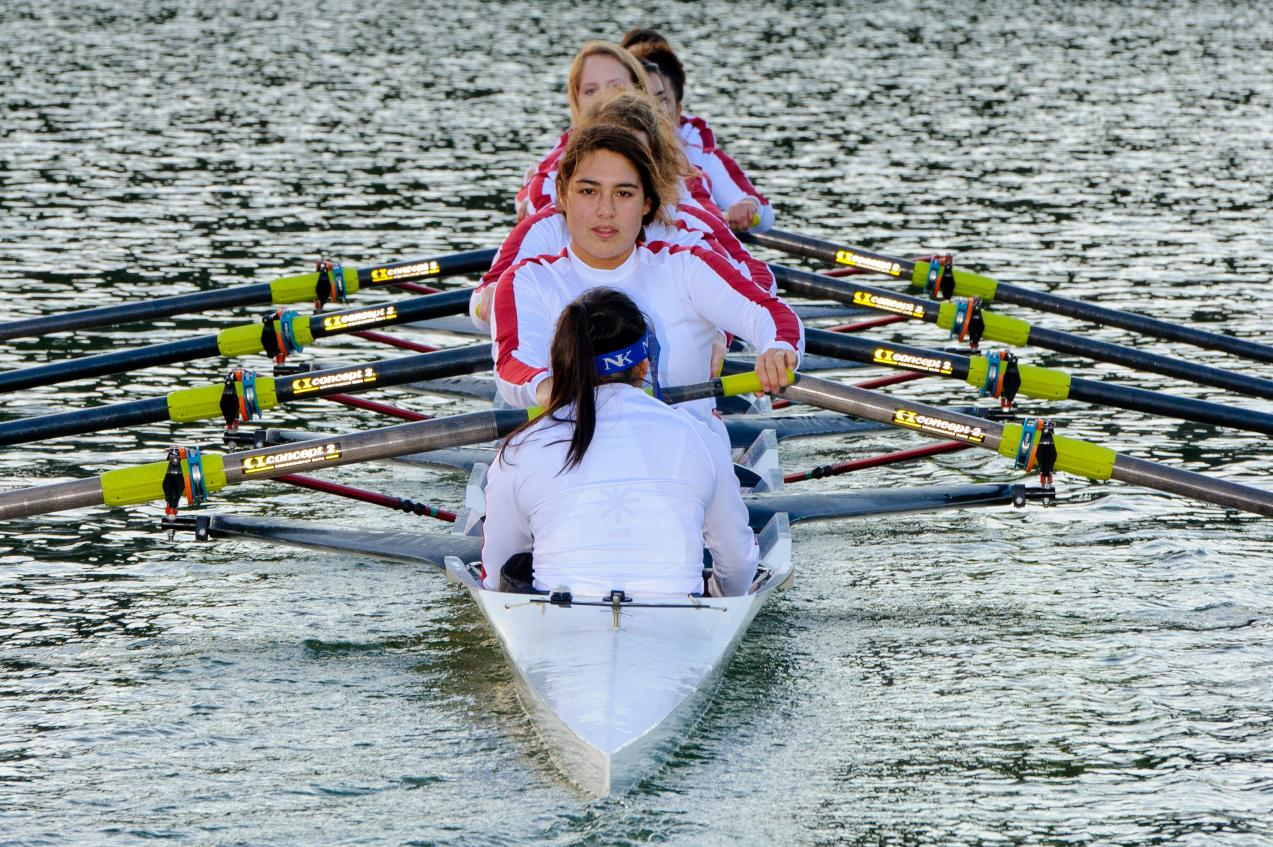 Women's Rowing Kicks-Off Fall Practices