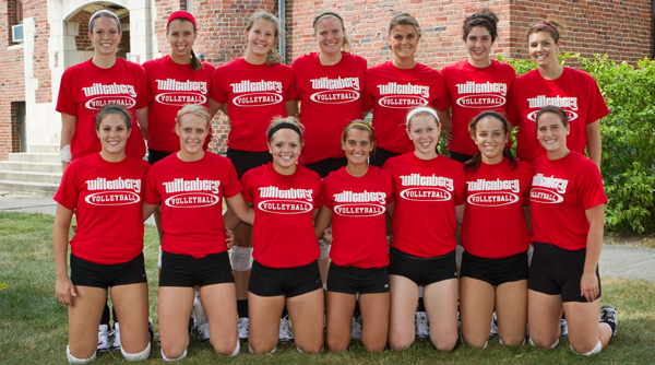 2010 Wittenberg Volleyball