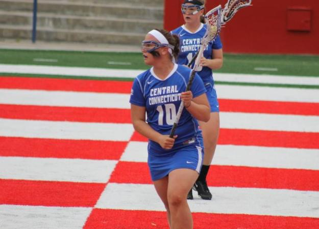 Perkoski Scores Five Goals in Lax Victory
