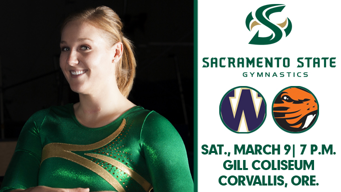 GYMNASTICS HEADS TO OREGON STATE FOR COMFORT SUITES INVITATIONAL