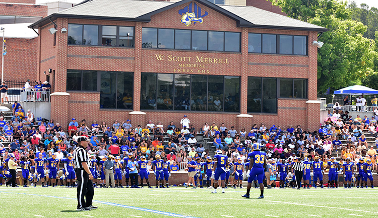 Football game versus Catawba will be Televised Live