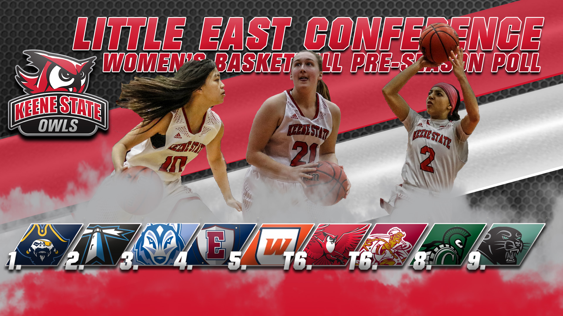 Women's Basketball Tabbed For Sixth In LEC Preseason Poll