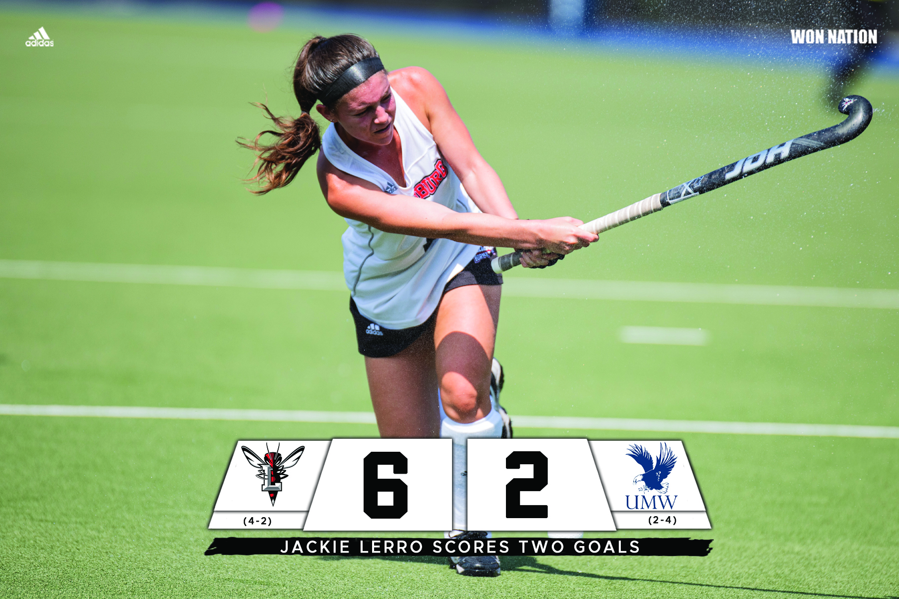 Lerro leads field hockey in win over Mary Washington