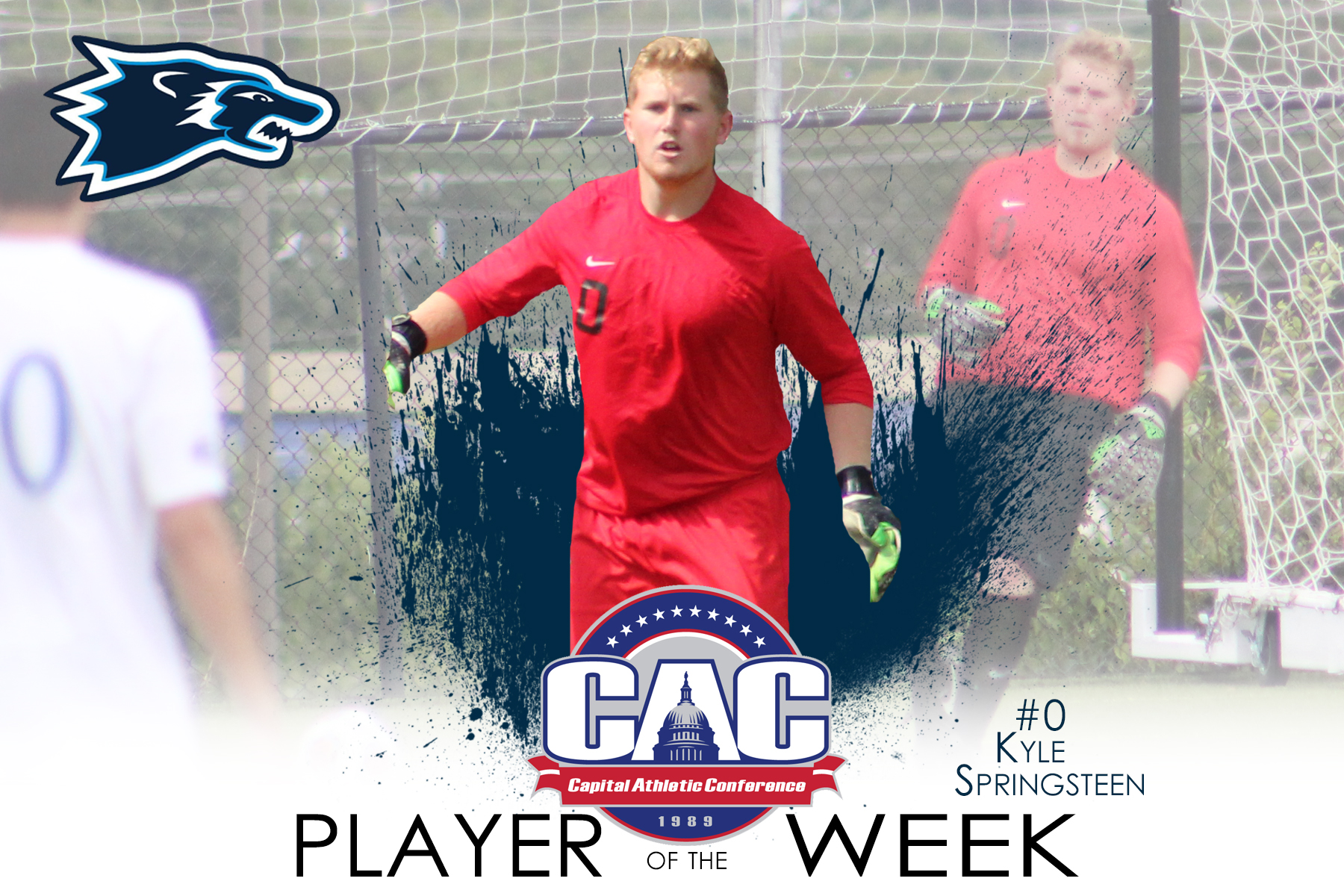 Springsteen's Debut Earns CAC Defensive Player of the Week