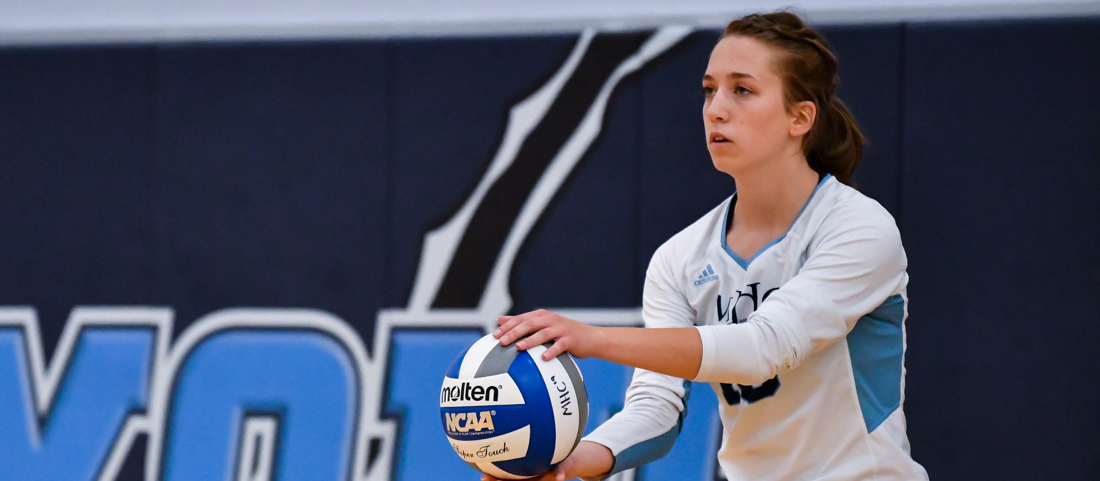 Volleyball Falls to Wellesley in Conference Play