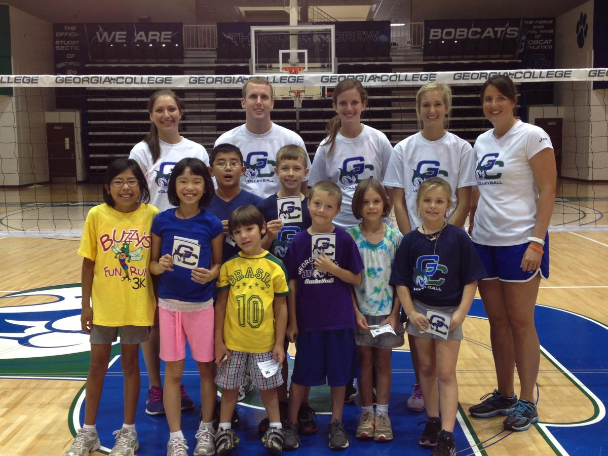 First Volleyball Clinic a Success, Two More to Come