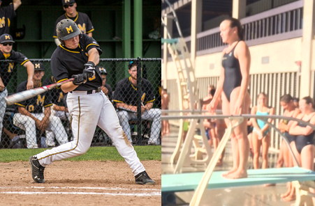 Kindel And Schalch Are April Mariners Of The Month