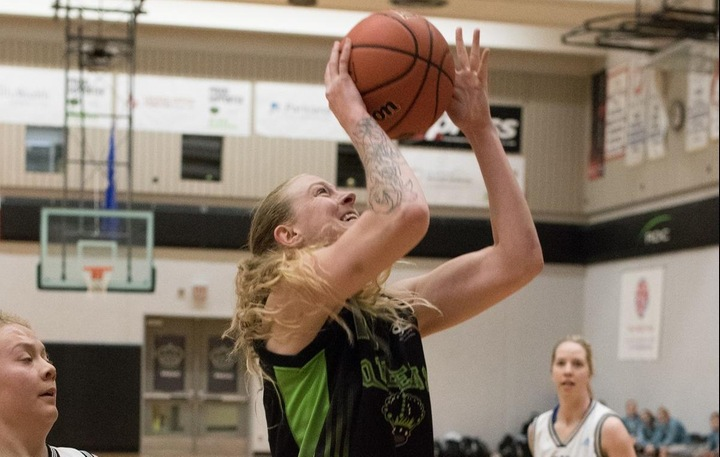 Emily White (11) was a force in Lethbridge. Photo - Tony Hansen