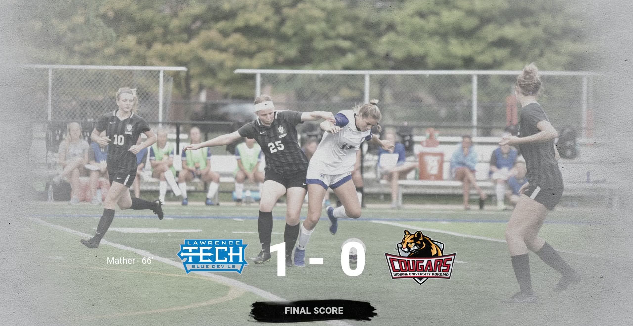 LTU Dominates New Program IU - Kokomo in 1-0 win; Mather Scores Lone Goal from an Assist by Jerovsek