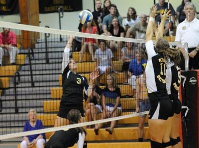 Volleyball Loses at Berry, 3-0