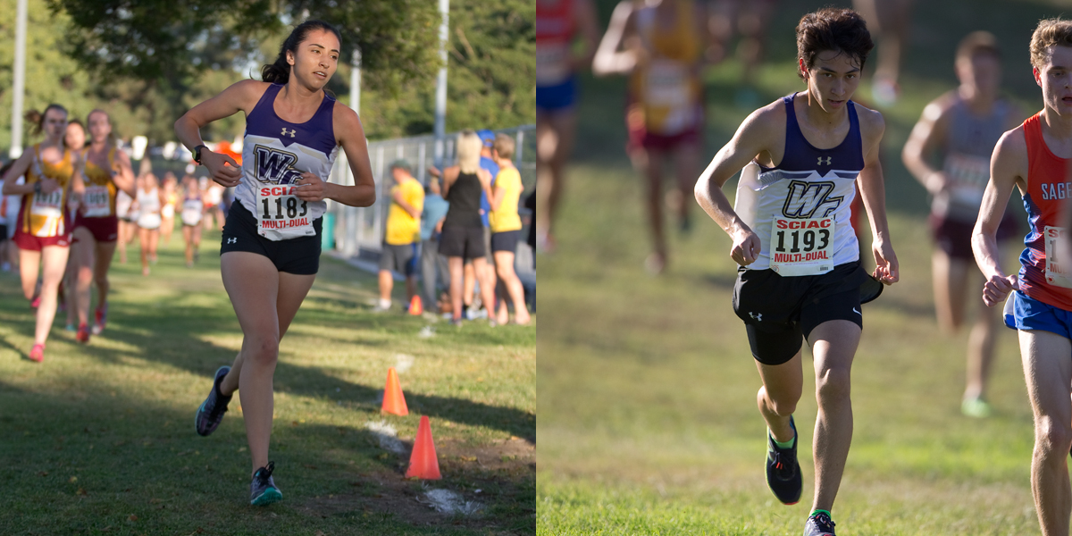Big Improvements Highlight Cross Country Runners at Pomona Invitational