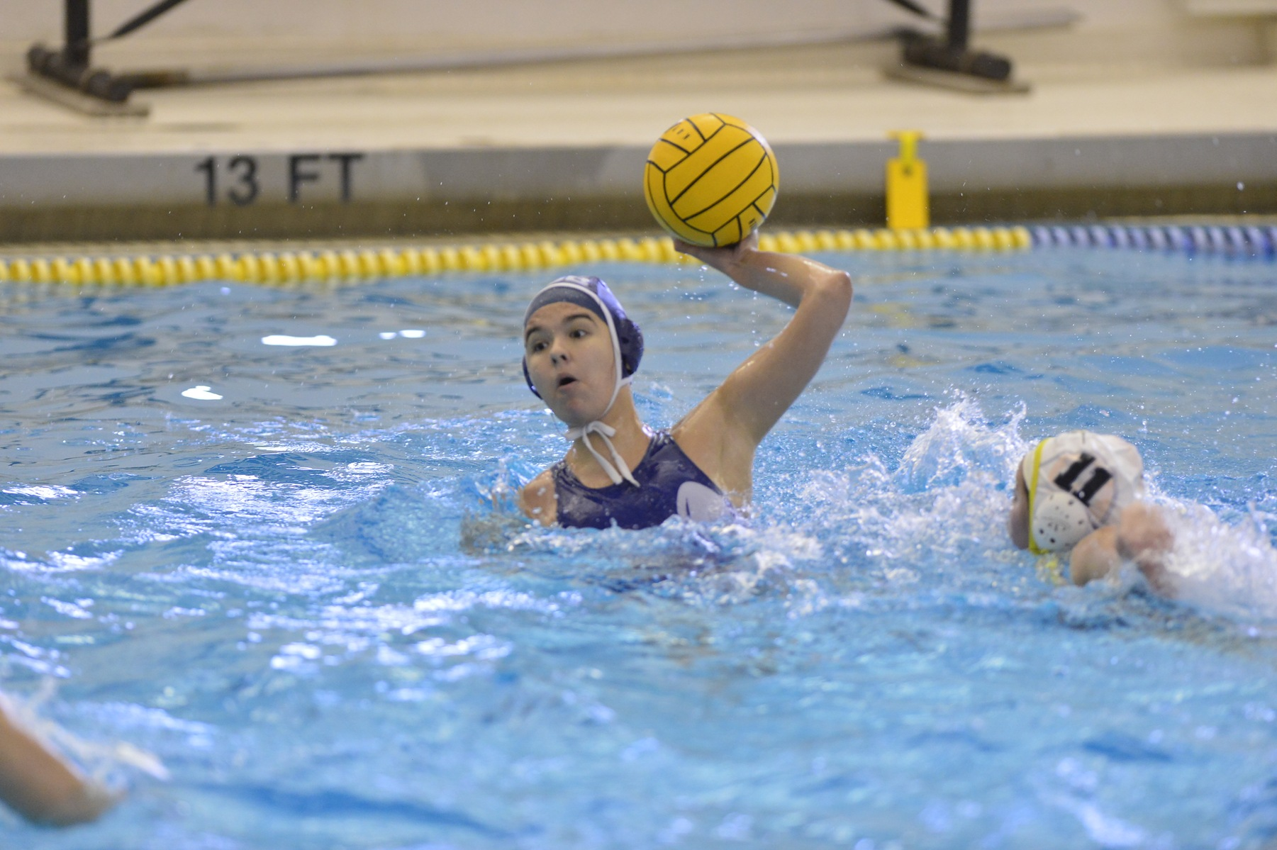 Lions Fall to Caltech in Women's Water Polo