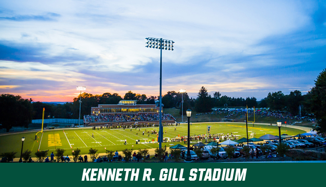 Gill Stadium gallery for football, lacrosse, field hockey, track and field