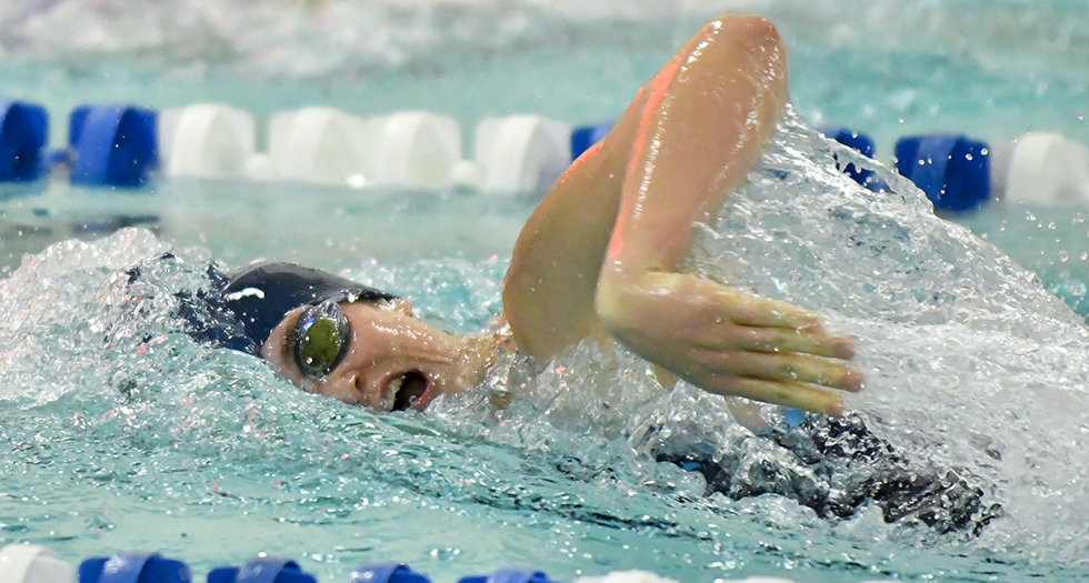 Lyons Sit Ninth After Day Two of NEWMAC Championships