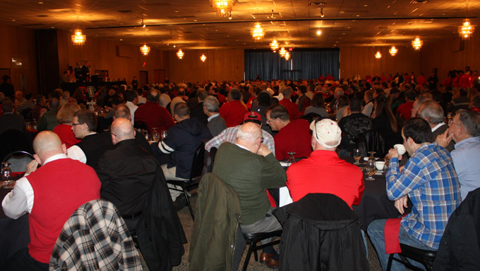 More than 500 were in attendance at Saturday's First Pitch Breakfast
