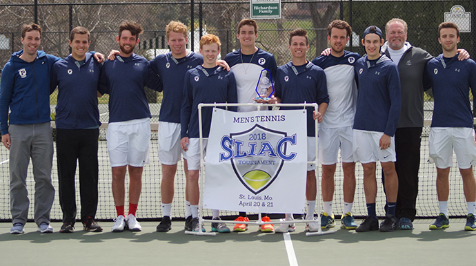 Panthers Make It Five Straight In SLIAC Men's Tennis