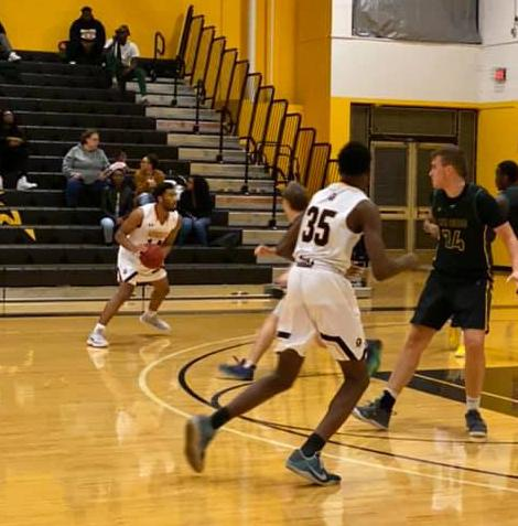 Men's Basketball Toppled at Cecil