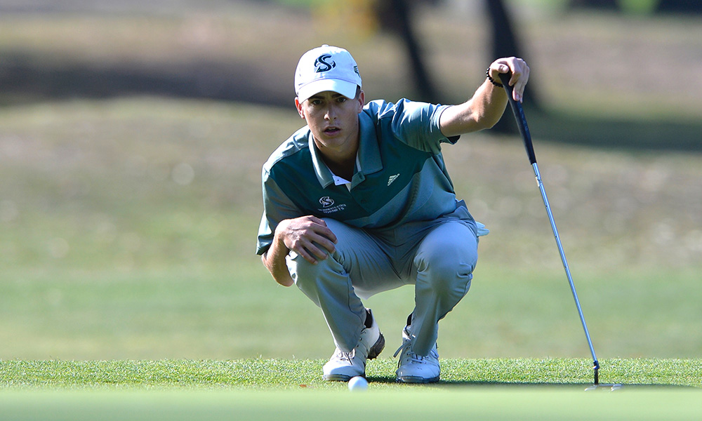 JOE FOWLER NAMED BIG SKY MEN'S GOLFER OF THE WEEK