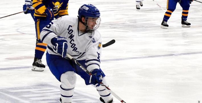 No. 5/6 Adrian scores two late goals, downs Men's Hockey 3-1