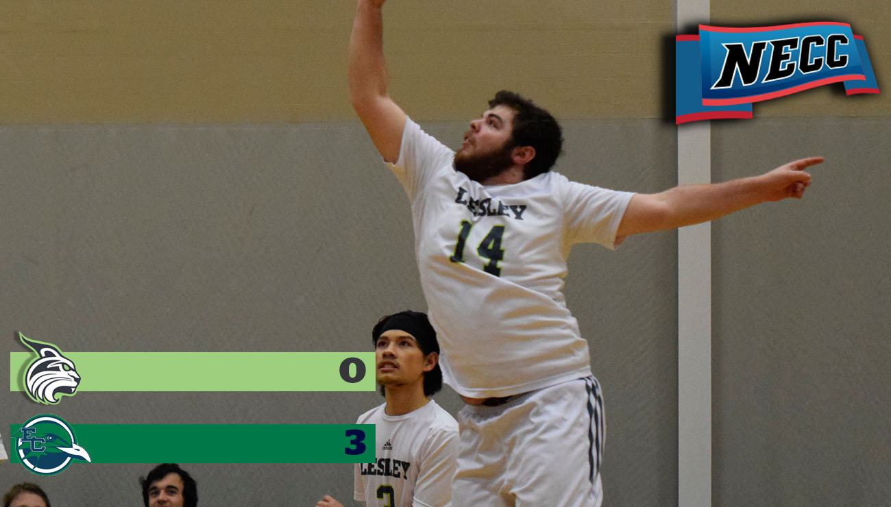 Men's Volleyball Falls to Gulls in NECC Action