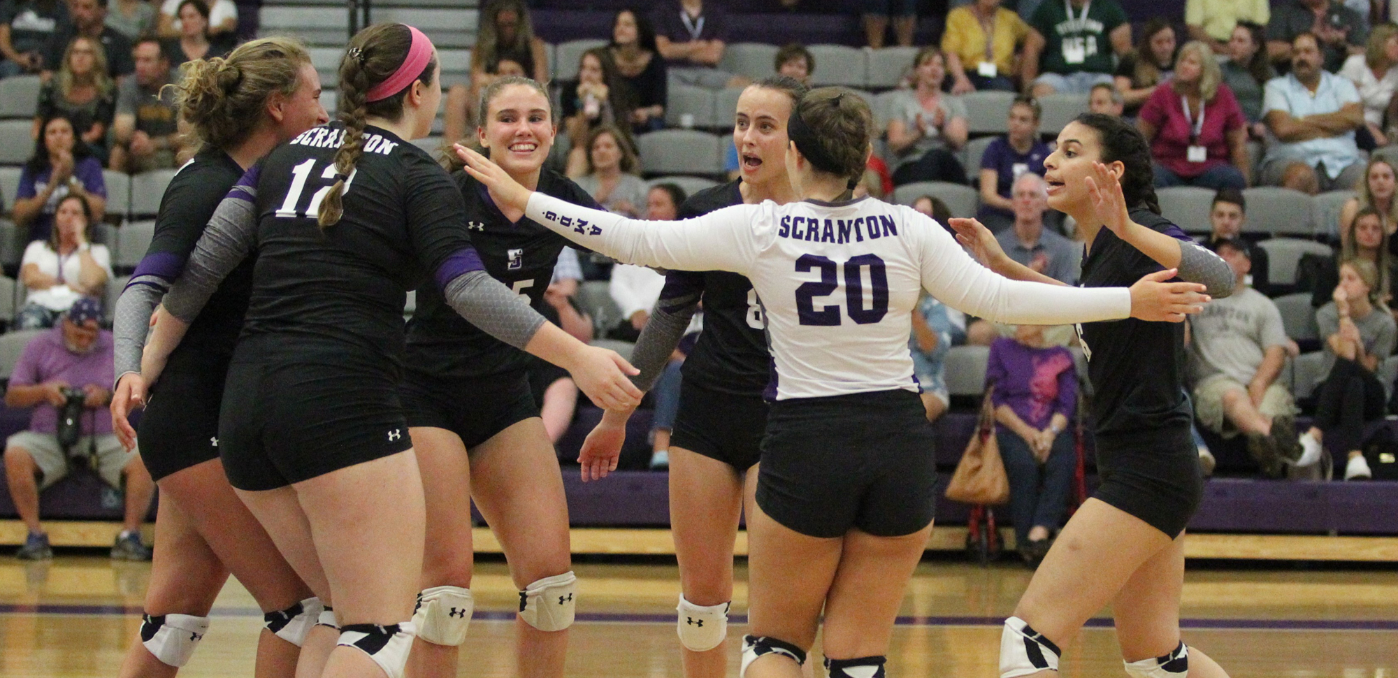 Graham, Volleyball Races Past Geneseo, Rowan in Pair of Non-Conference Victories