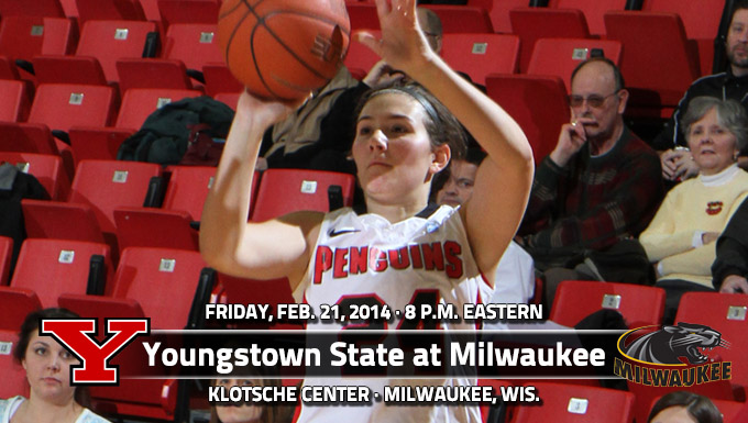 YSU Starts Big Wisconsin Road Swing at Milwaukee on Friday