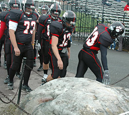 Frostburg State, the rock