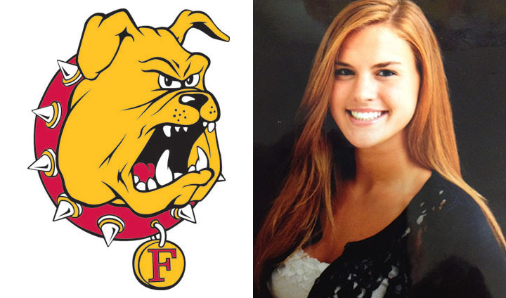 Bulldog Volleyball Inks Clarkston's Kaley Konjarevich
