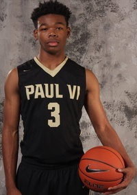 Paul VI's hotly recruited sophomore Anthony Harris is part of a changing of the guard in the WCAC
