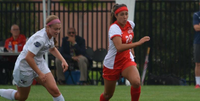 Valentina Giambanco scored her first two career goals for SVSU on Saturday afternoon...