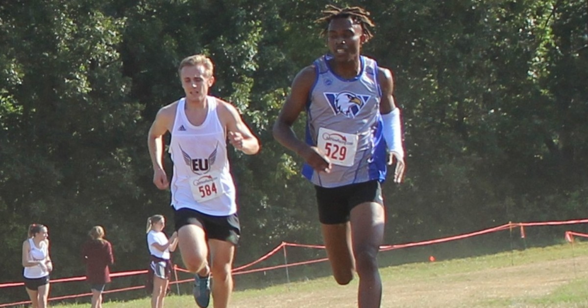 John Guyton finished in ninth place (Photo Credit to Dori Rapinchuk of College of the Ozarks Sports Information)